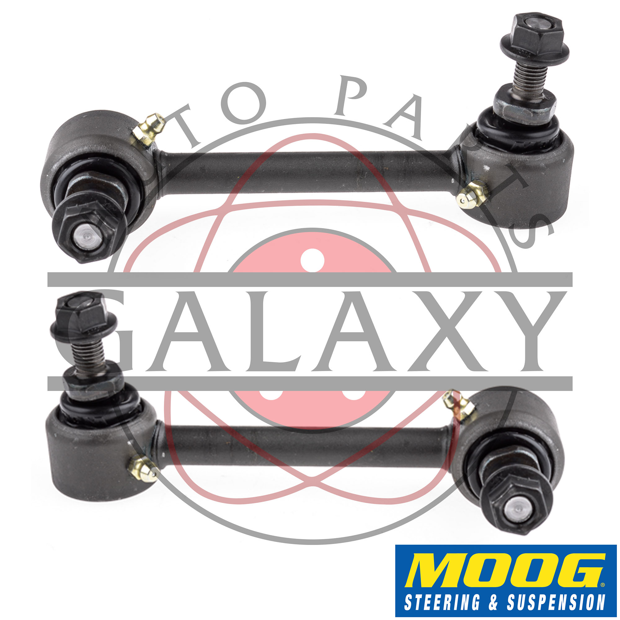 Honda Prelude 1997 Stabilizer Bar Links: Moog New Replacement Complete Rear Sway Bar Links Pair For